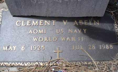 ABELN, CLEMENT V. - Pennington County, South Dakota | CLEMENT V. ABELN - South Dakota Gravestone Photos