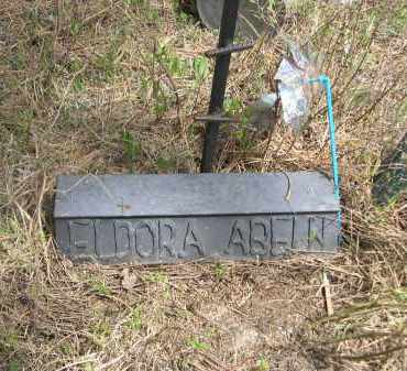 ABELN, ELDORA - Pennington County, South Dakota | ELDORA ABELN - South Dakota Gravestone Photos