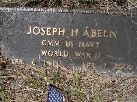ABELN, JOSEPH H. - Pennington County, South Dakota | JOSEPH H. ABELN - South Dakota Gravestone Photos
