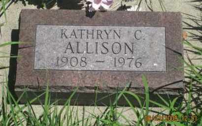 ALLISON, KATHERYN  C. - Pennington County, South Dakota | KATHERYN  C. ALLISON - South Dakota Gravestone Photos
