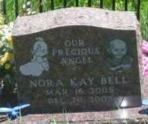 BELL, NORA KAY - Pennington County, South Dakota   NORA KAY BELL - South Dakota Gravestone Photos