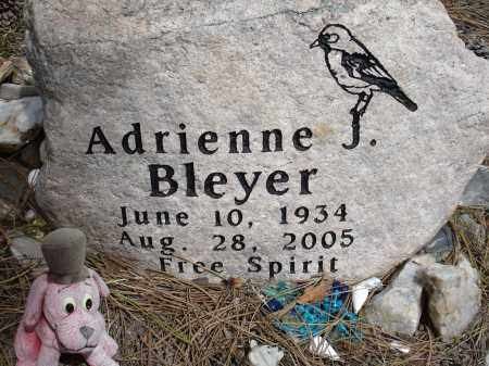 BLEYER, ADRIENNE - Pennington County, South Dakota | ADRIENNE BLEYER - South Dakota Gravestone Photos