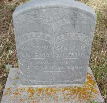 BURR, HELEN M. - Pennington County, South Dakota | HELEN M. BURR - South Dakota Gravestone Photos
