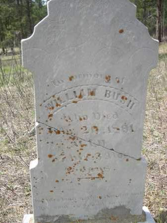 BUSH, WILLIAM - Pennington County, South Dakota | WILLIAM BUSH - South Dakota Gravestone Photos