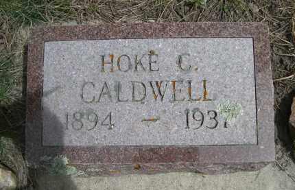 CALDWELL, HOKE C. - Pennington County, South Dakota | HOKE C. CALDWELL - South Dakota Gravestone Photos
