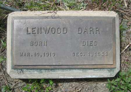DARR, LENWOOD - Pennington County, South Dakota | LENWOOD DARR - South Dakota Gravestone Photos
