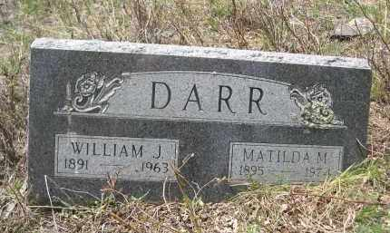 DARR, MATILDA M. - Pennington County, South Dakota | MATILDA M. DARR - South Dakota Gravestone Photos