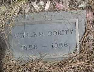 DORITY, WILLIAM - Pennington County, South Dakota | WILLIAM DORITY - South Dakota Gravestone Photos