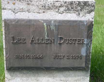 DUSTER, LEE ALLEN - Pennington County, South Dakota | LEE ALLEN DUSTER - South Dakota Gravestone Photos