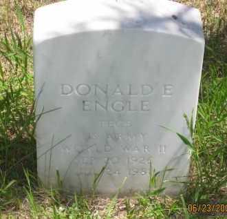 ENGLE, DONALD  E. - Pennington County, South Dakota   DONALD  E. ENGLE - South Dakota Gravestone Photos