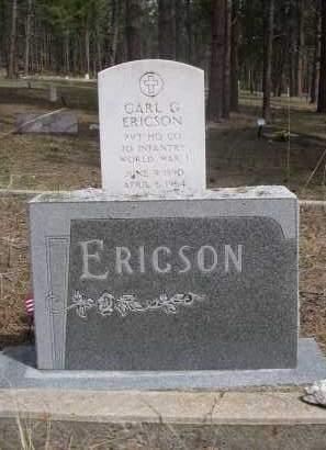 ERICSON, FAMILY - Pennington County, South Dakota | FAMILY ERICSON - South Dakota Gravestone Photos