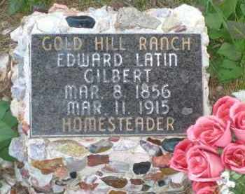 GILBERT, EDWARD LATIN - Pennington County, South Dakota   EDWARD LATIN GILBERT - South Dakota Gravestone Photos