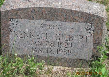 GILBERT, KENNETH - Pennington County, South Dakota | KENNETH GILBERT - South Dakota Gravestone Photos
