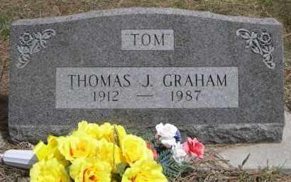 "GRAHAM, THOMAS J. ""TOM"" - Pennington County, South Dakota | THOMAS J. ""TOM"" GRAHAM - South Dakota Gravestone Photos"