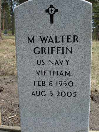 GRIFFIN, M. WALTER - Pennington County, South Dakota | M. WALTER GRIFFIN - South Dakota Gravestone Photos