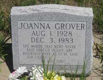 GROVER, JOANNA - Pennington County, South Dakota | JOANNA GROVER - South Dakota Gravestone Photos