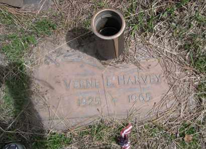 HARVEY, VERNE L - Pennington County, South Dakota | VERNE L HARVEY - South Dakota Gravestone Photos