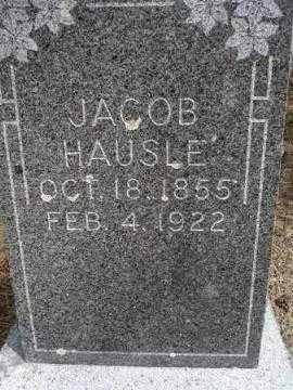 HAUSLE, JACOB - Pennington County, South Dakota | JACOB HAUSLE - South Dakota Gravestone Photos