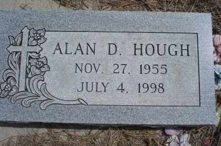 HOUGH, ALAN D. - Pennington County, South Dakota | ALAN D. HOUGH - South Dakota Gravestone Photos
