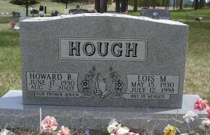 HOUGH, LOIS M. - Pennington County, South Dakota | LOIS M. HOUGH - South Dakota Gravestone Photos