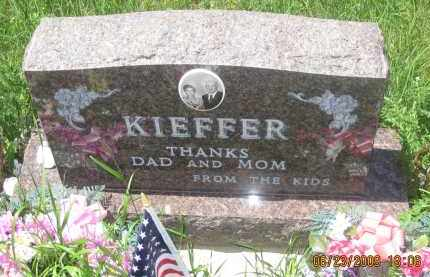 KIEFFER, FAMILY STONE - Pennington County, South Dakota   FAMILY STONE KIEFFER - South Dakota Gravestone Photos