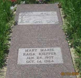 KIEFFER, MARY MARIE - Pennington County, South Dakota   MARY MARIE KIEFFER - South Dakota Gravestone Photos