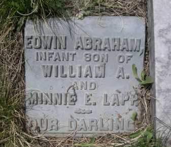 LAPP, EDWIN ABRAHAM - Pennington County, South Dakota | EDWIN ABRAHAM LAPP - South Dakota Gravestone Photos