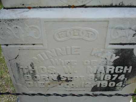 MARCH, MINNIE MAY - Pennington County, South Dakota | MINNIE MAY MARCH - South Dakota Gravestone Photos
