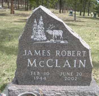 MCCLAIN, JAMES ROBERT - Pennington County, South Dakota | JAMES ROBERT MCCLAIN - South Dakota Gravestone Photos