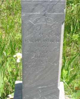 MCNOWN, E. J. - Pennington County, South Dakota | E. J. MCNOWN - South Dakota Gravestone Photos