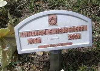 NEUBERGER, WILLIAM G. - Pennington County, South Dakota | WILLIAM G. NEUBERGER - South Dakota Gravestone Photos