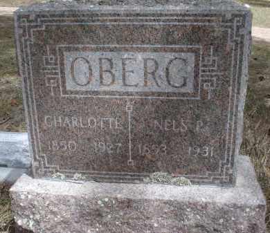 OBERG, CHALOTTE - Pennington County, South Dakota | CHALOTTE OBERG - South Dakota Gravestone Photos