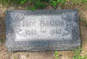 PARKISON, JOHN - Pennington County, South Dakota | JOHN PARKISON - South Dakota Gravestone Photos