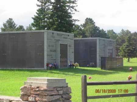 *PINE LAWN MEMORIAL PARK, VIEW OF MAUSOLEUMS - Pennington County, South Dakota | VIEW OF MAUSOLEUMS *PINE LAWN MEMORIAL PARK - South Dakota Gravestone Photos