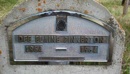 PINKERTON, DEE ELAINE - Pennington County, South Dakota | DEE ELAINE PINKERTON - South Dakota Gravestone Photos