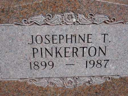 PINKERTON, JOSEPHINE T. - Pennington County, South Dakota | JOSEPHINE T. PINKERTON - South Dakota Gravestone Photos