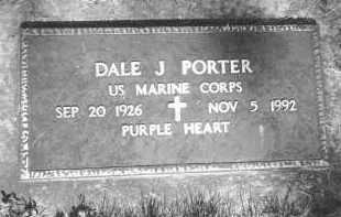 PORTER, DALE J - Pennington County, South Dakota | DALE J PORTER - South Dakota Gravestone Photos