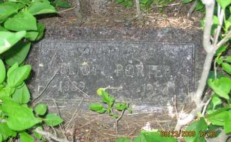 PORTER, ELIOT - Pennington County, South Dakota | ELIOT PORTER - South Dakota Gravestone Photos