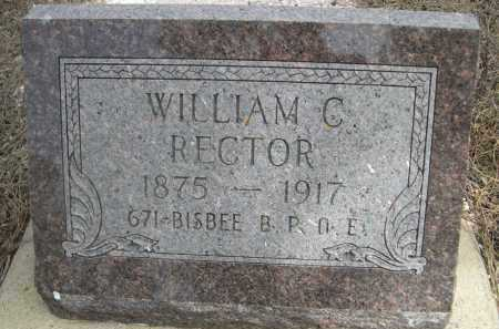 RECTOR, WILLIAM C. - Pennington County, South Dakota | WILLIAM C. RECTOR - South Dakota Gravestone Photos
