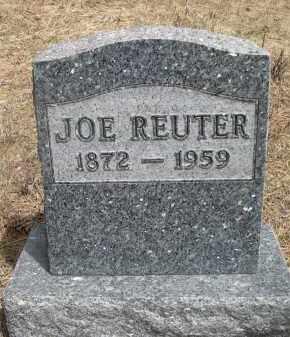 REUTER, JOE - Pennington County, South Dakota | JOE REUTER - South Dakota Gravestone Photos
