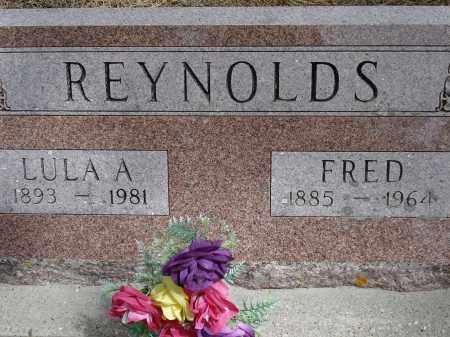 REYNOLDS, FRED - Pennington County, South Dakota   FRED REYNOLDS - South Dakota Gravestone Photos
