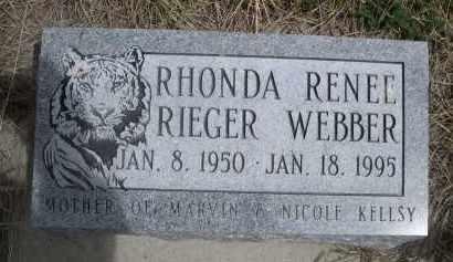 RIEGER, RHONDA RENEE - Pennington County, South Dakota | RHONDA RENEE RIEGER - South Dakota Gravestone Photos