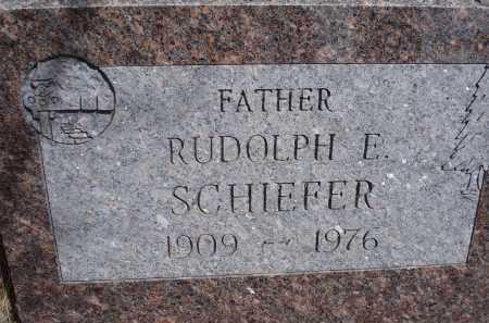 SCHIEFER, RUDOLPH E. - Pennington County, South Dakota | RUDOLPH E. SCHIEFER - South Dakota Gravestone Photos