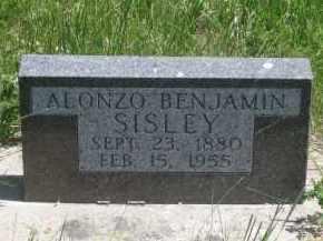 SISLEY, ALONZO BENJAMIN - Pennington County, South Dakota | ALONZO BENJAMIN SISLEY - South Dakota Gravestone Photos