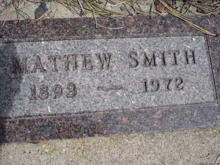 SMITH, MATHEW - Pennington County, South Dakota | MATHEW SMITH - South Dakota Gravestone Photos