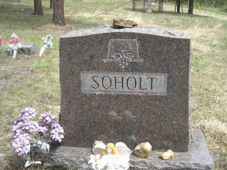 SOHOLT, FAMILY - Pennington County, South Dakota   FAMILY SOHOLT - South Dakota Gravestone Photos