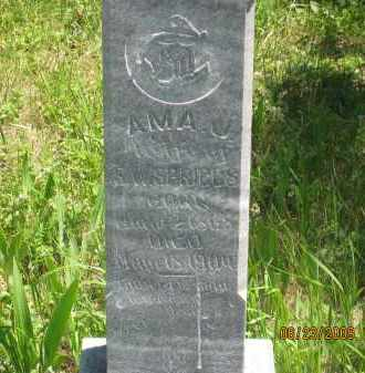 SPRIGGS, AMA J. - Pennington County, South Dakota | AMA J. SPRIGGS - South Dakota Gravestone Photos