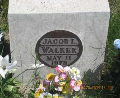 WALKER, JACOB  L. - Pennington County, South Dakota | JACOB  L. WALKER - South Dakota Gravestone Photos