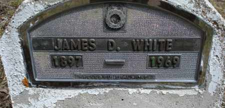 WHITE, JAMES D. - Pennington County, South Dakota | JAMES D. WHITE - South Dakota Gravestone Photos