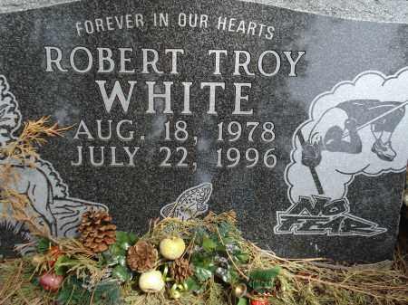 WHITE, ROBERT TROY - Pennington County, South Dakota | ROBERT TROY WHITE - South Dakota Gravestone Photos